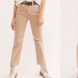 LAST CHANCE NWOT Free People high rise pants